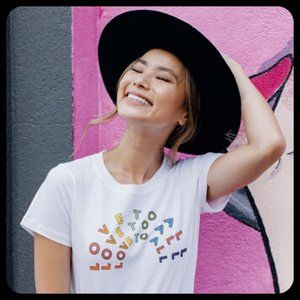 Madewell x Human Rights Campaign Love to All Tee